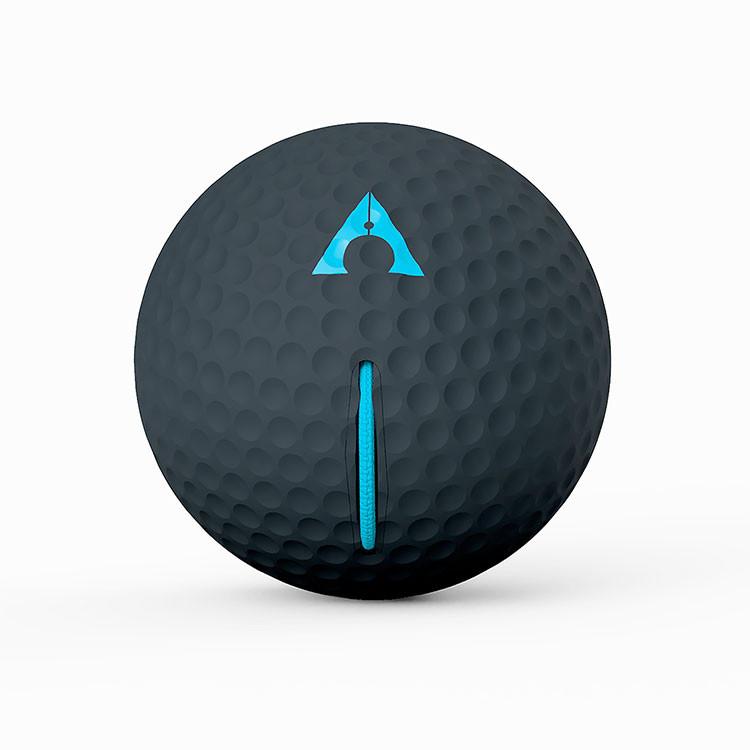 Alignment Ball Noir Bleu Golf Plus
