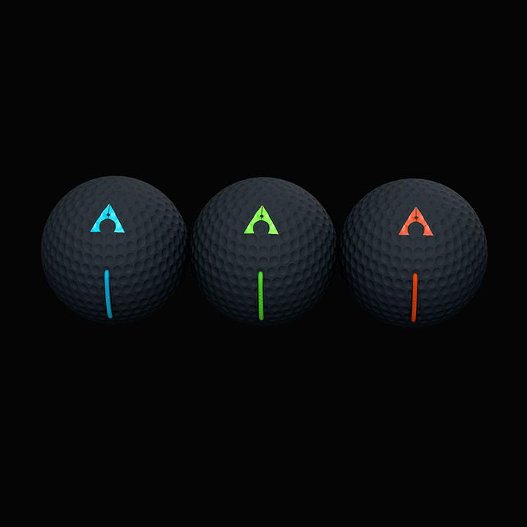 Alignment Ball Noir Vert Golf Plus