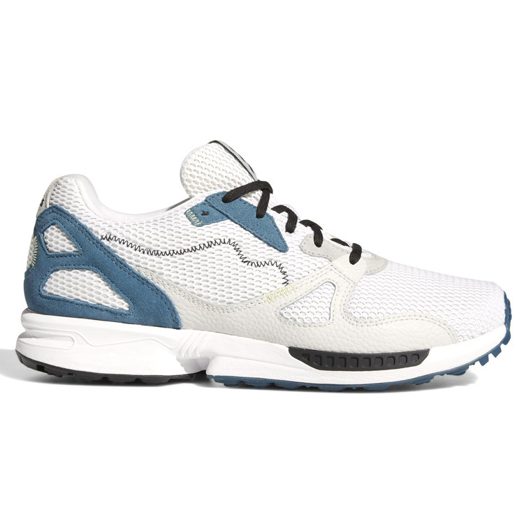 adicross primeblue blanc/bleu droite