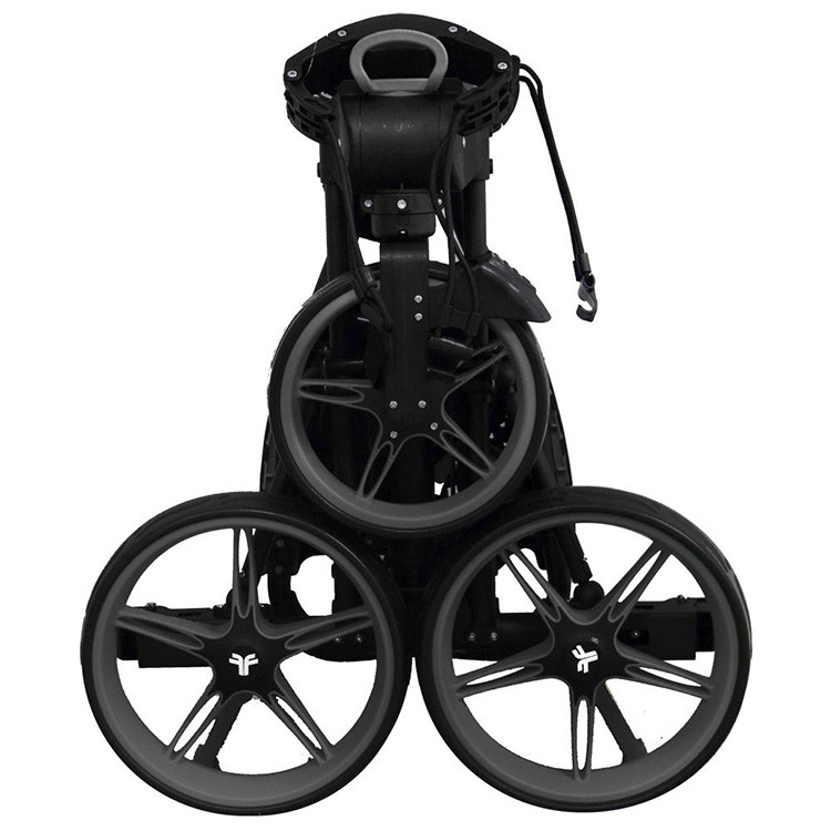 FastFold Chariot 3 Roues Charcoal Noir Golf Plus