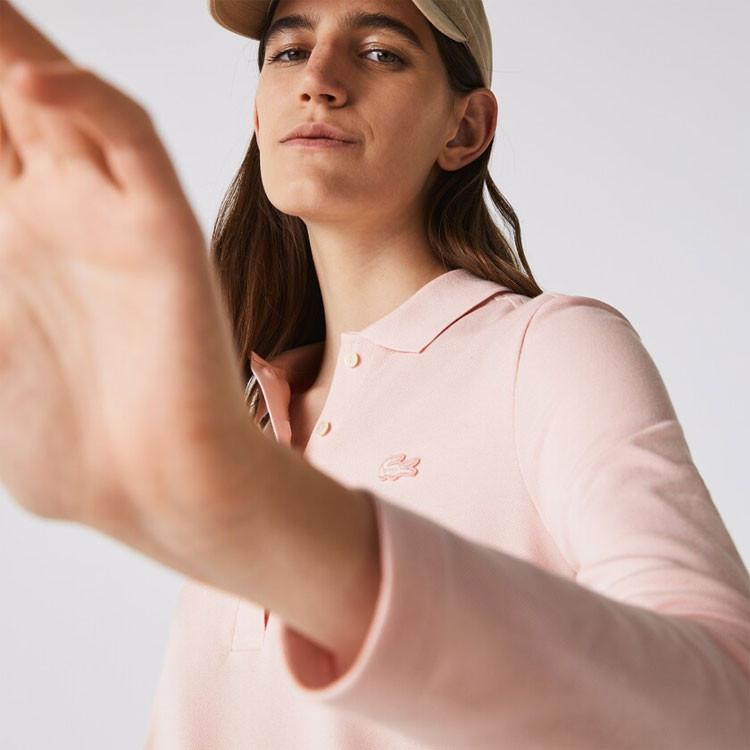Lacoste Polo Femme Coton Rose Golf Plus