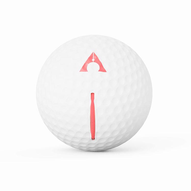 Alignment Ball - Balle alignement aimantée blanc-ROUGE