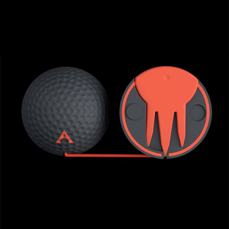 Alignment Ball - Balle alignement aimantée charcoal-orange