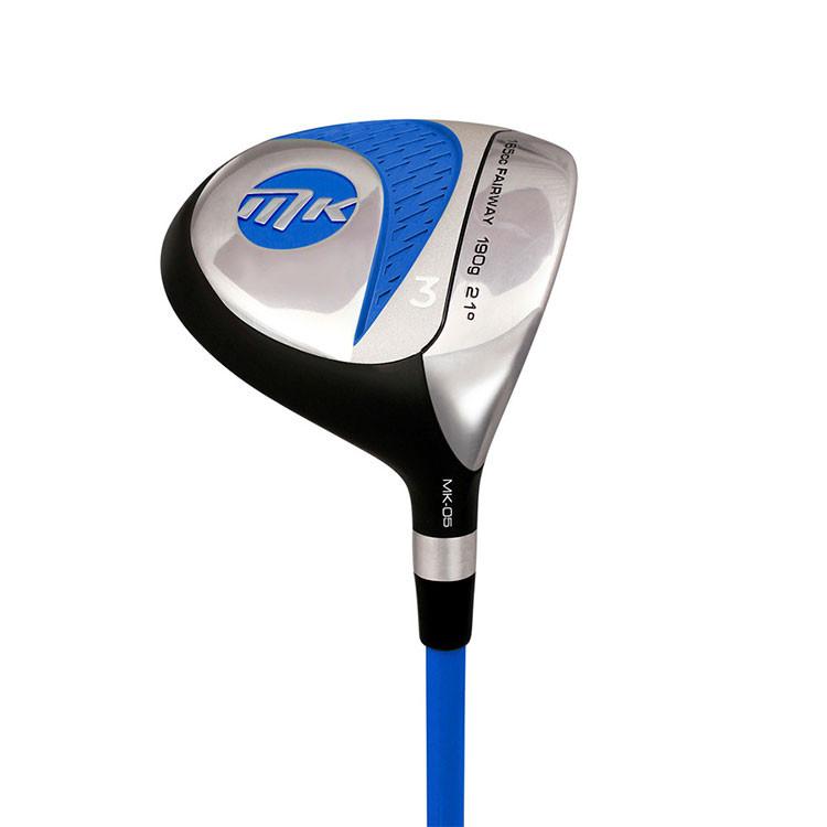 MKids Bois de Parcours Pro Junior Bleu Golf Plus