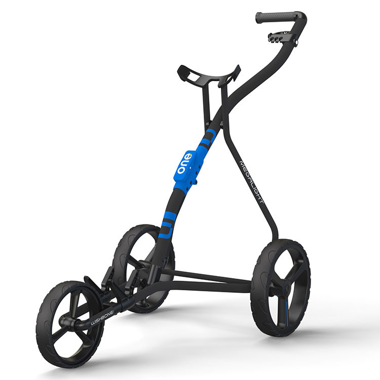 WISHBONE - CHARIOT ONE 3 ROUES ANTHRACITE/BLEU/NOIR