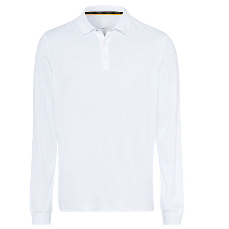 Brax Polo Phoenix Homme Blanc Avant Golf Plus