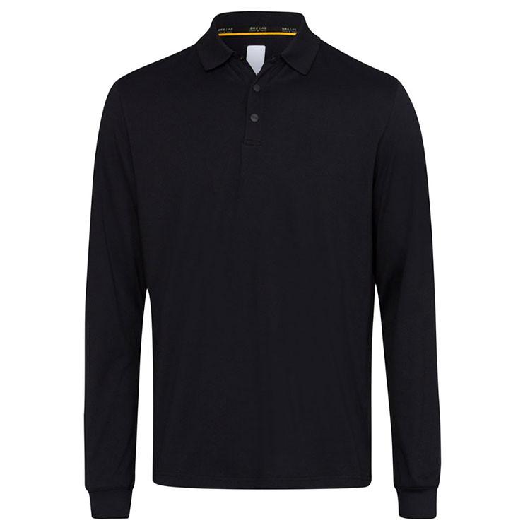 Brax Polo Phoenix Homme Noir Avant Golf Plus