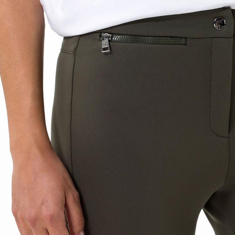 Brax Pantalon Lou Femme Kaki Gros Plan Poche Golf Plus