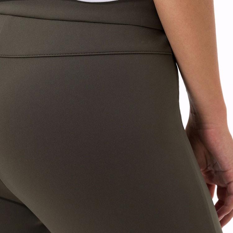 Brax Pantalon Lou Femme Kaki Gros Plan Arrière Golf Plus