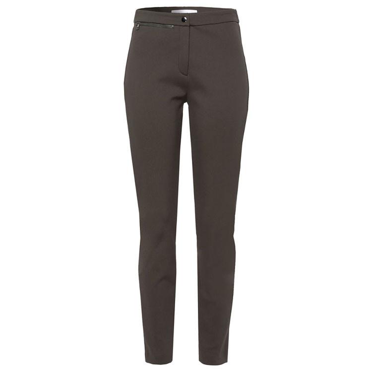 Brax Pantalon Lou Femme Kaki Avant Golf Plus