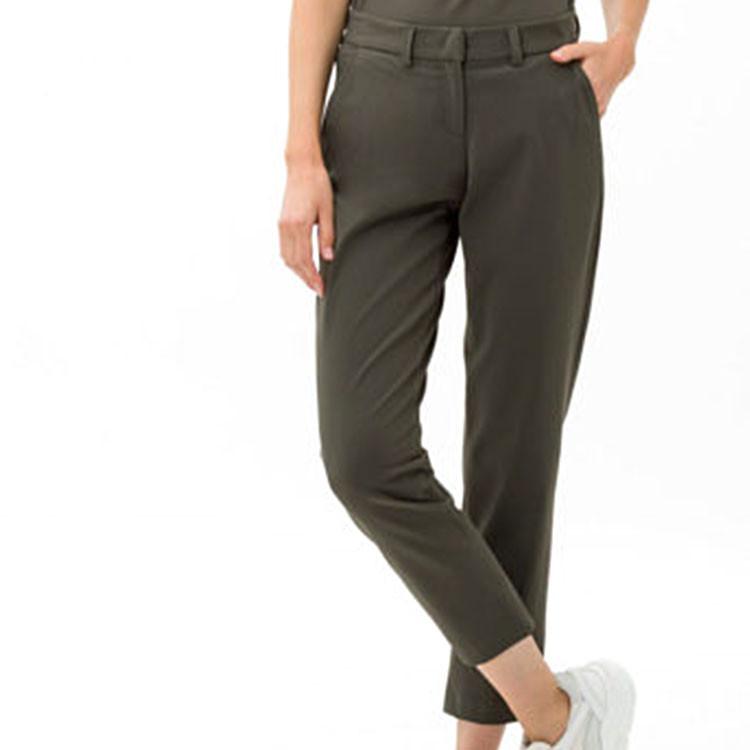 Brax Pantalon Celina Kaki Face Avant Golf Plus