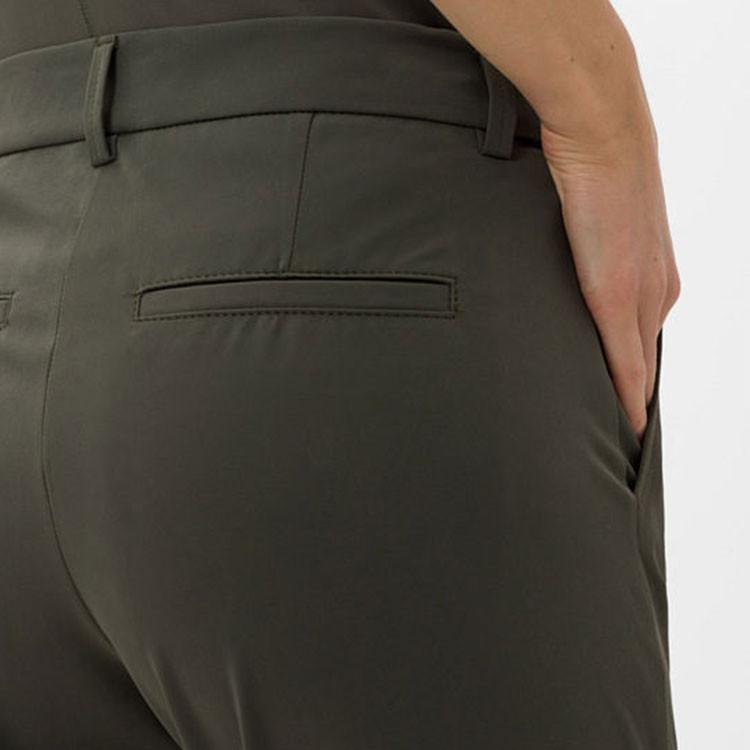 Brax Pantalon Celina Kaki Zoom Poche Arrière Golf Plus