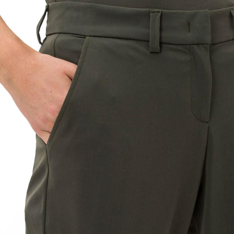 Brax Pantalon Celina Kaki Zoom Poche Avant Golf Plus