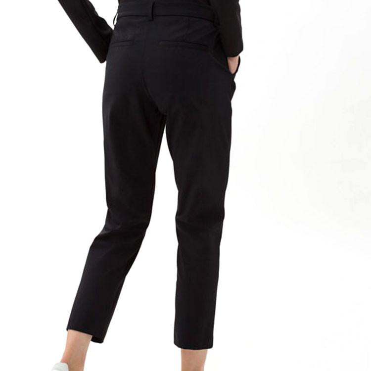 Brax Pantalon Celina Noir De Dos Golf Plus