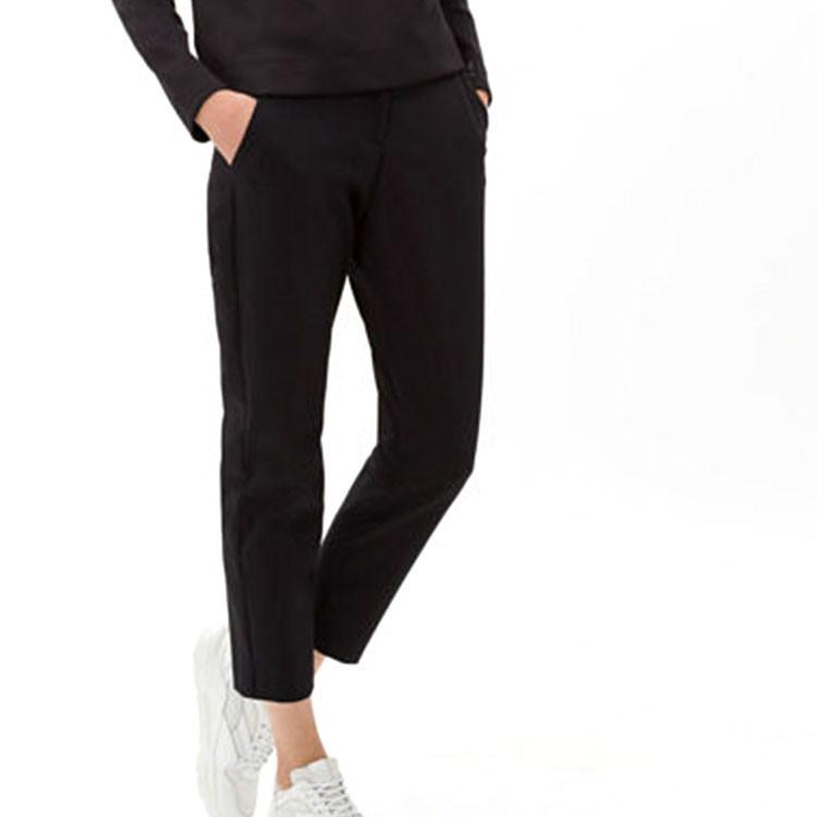Brax Pantalon Celina Noir Face Avant Golf Plus
