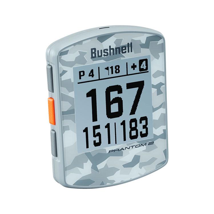 Bushnell Phantom 2 Gris Camo Golf Plus