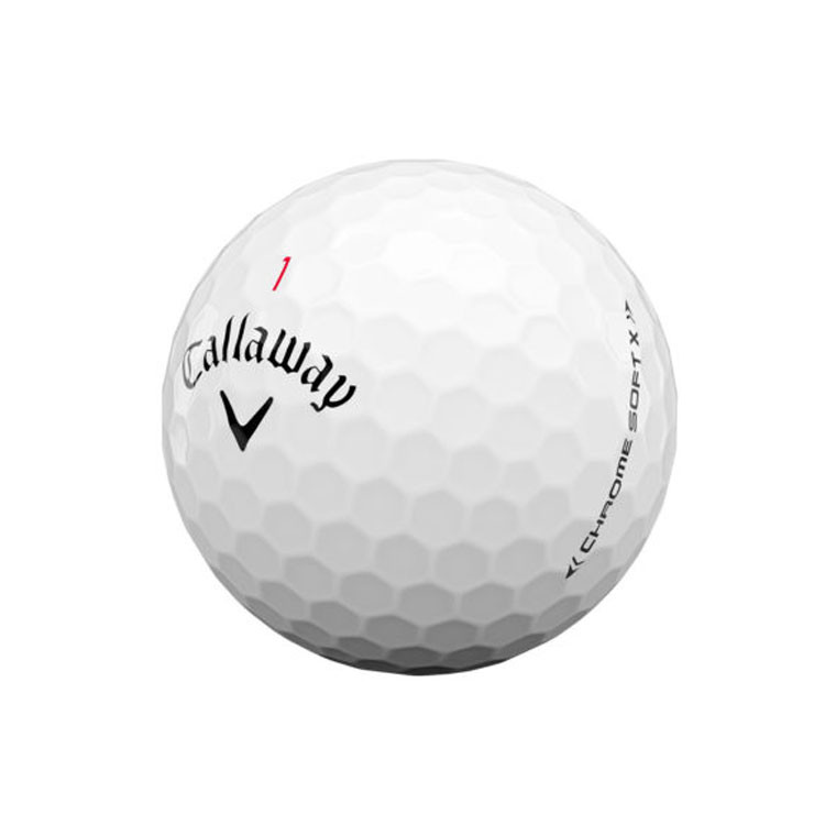 Callaway - Balle Chrome Soft X ligne