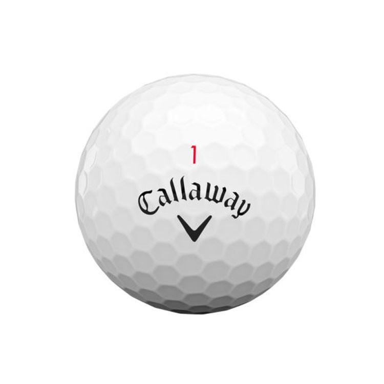 Callaway - Balle Chrome Soft X blanche