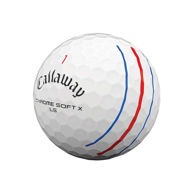 Callaway Balle Chrome Soft X LS Triple Track Golf Plus