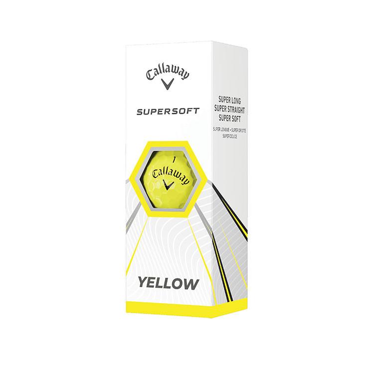 Callaway Supersoft Blanche boîtes 3 balles