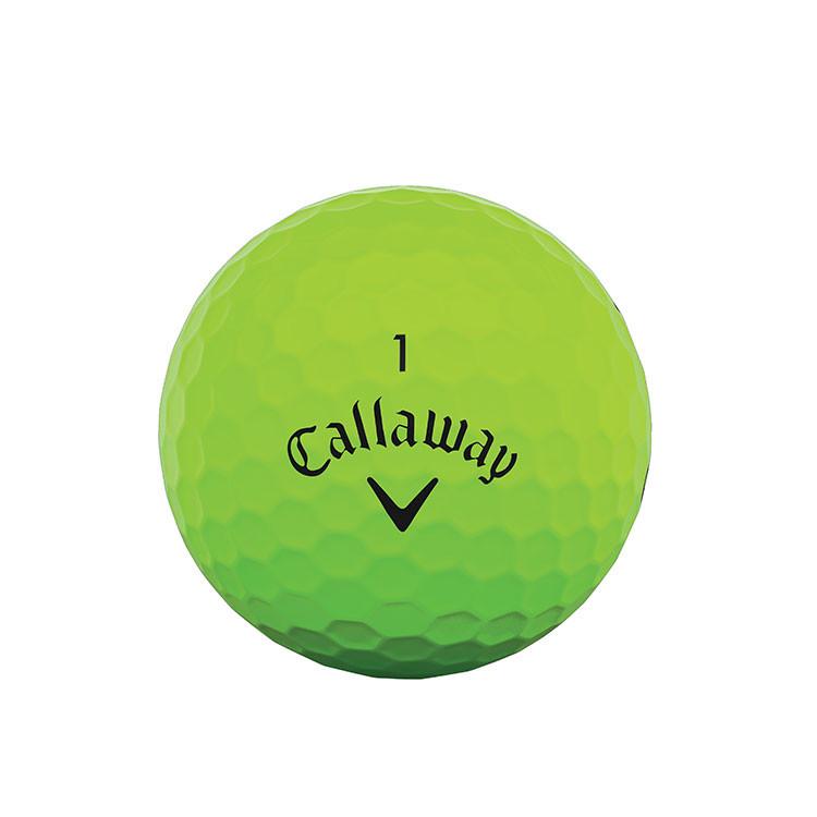 CALLAWAY - BALLES DE GOLF SUPERSOFT MATTE VERT 1
