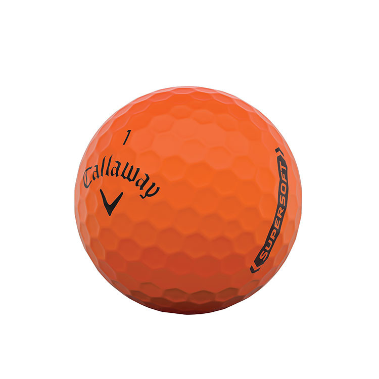 CALLAWAY - BALLES DE GOLF SUPERSOFT MATTE ORANGE 3