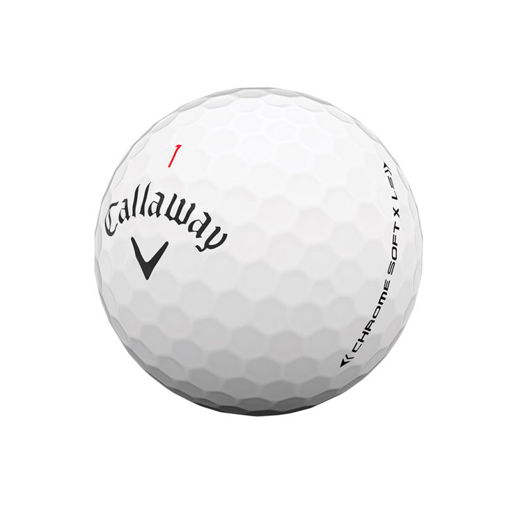 CALLAWAY---BALLES-DE-GOLF-CHROME-SOFT-X-LOW-SPIN---Golf-Plus
