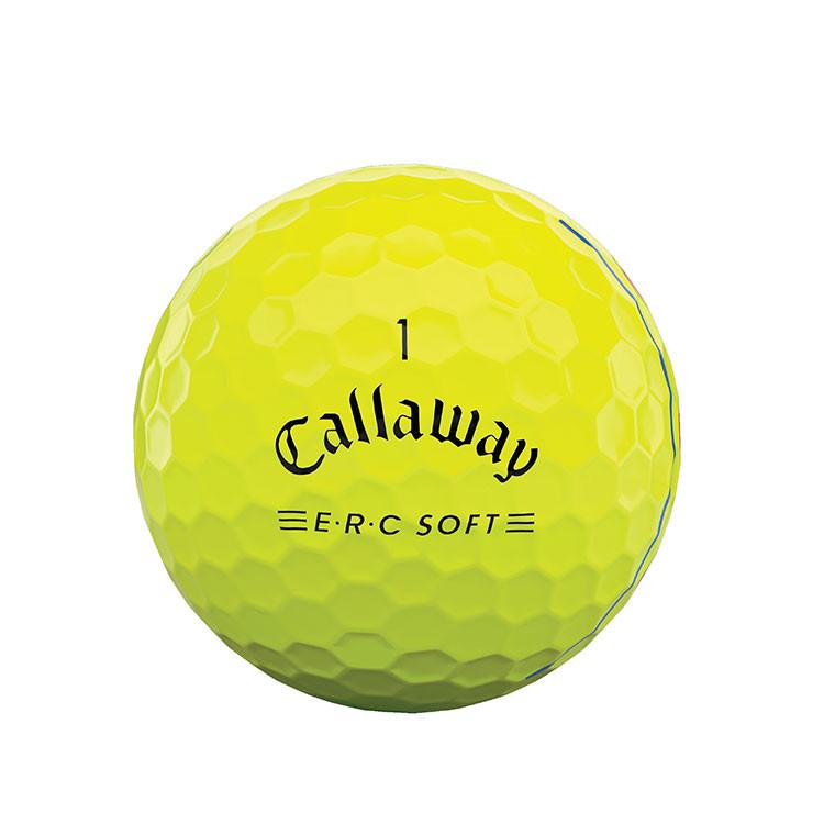 CALLAWAY - BALLES DE GOLF ERC SOFT TRIPLE TRACK JAUNE logo