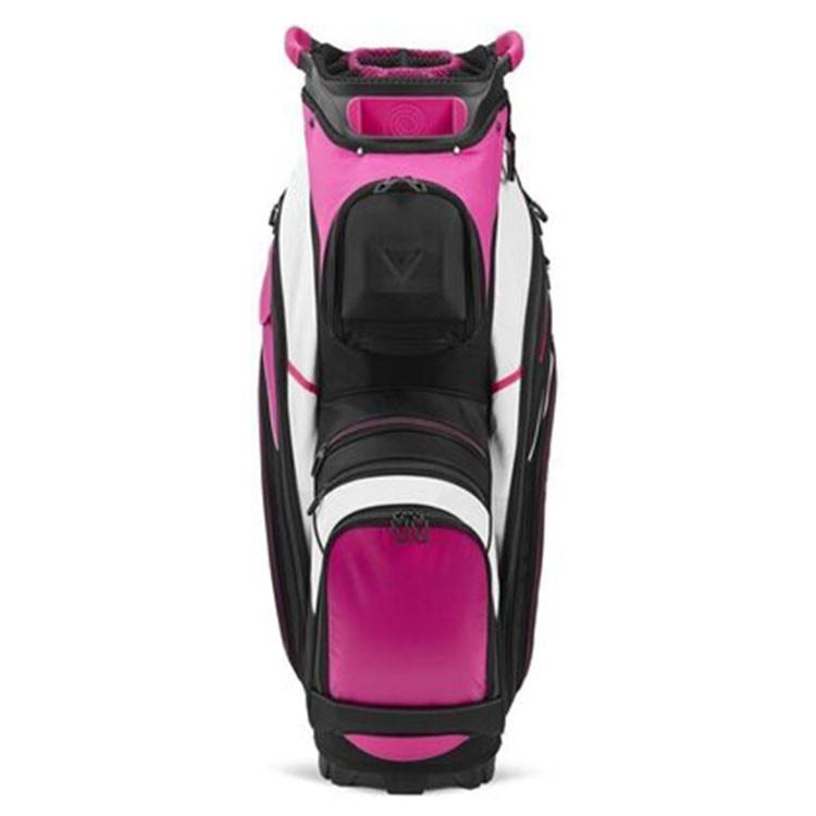 Callaway Sac Chariot Org 14 Rose/Noir/Blanc Golf Plus