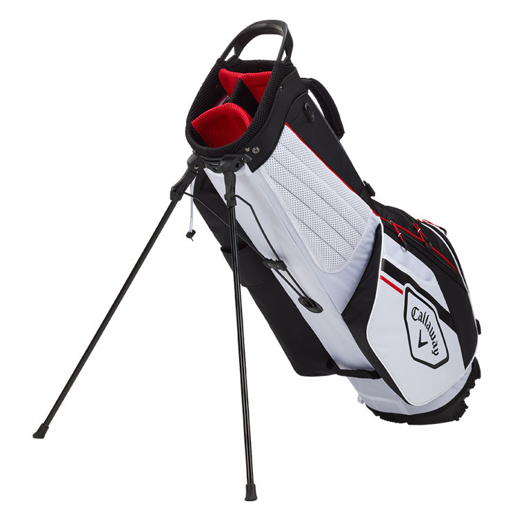 Callaway Sac Chev Dry Trepied Blanc Noir Rouge Golf Plus