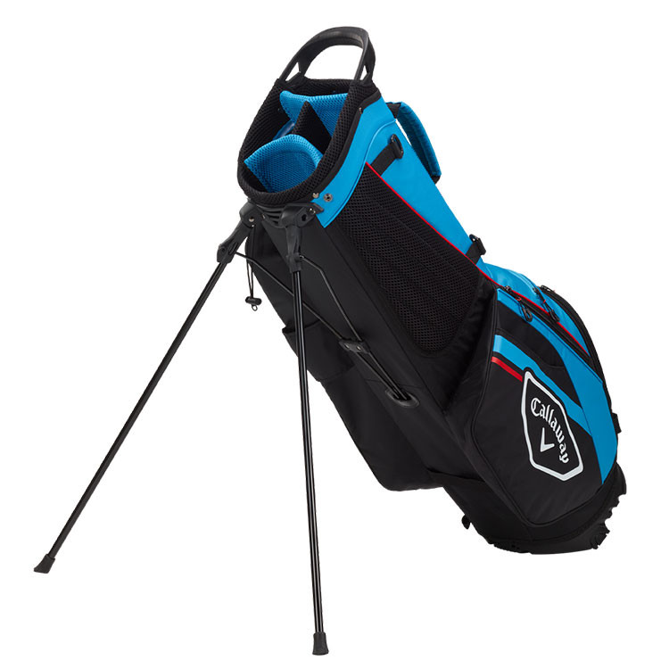 Callaway Sac Chev Dry Trepied Noir Bleu Rouge Golf Plus