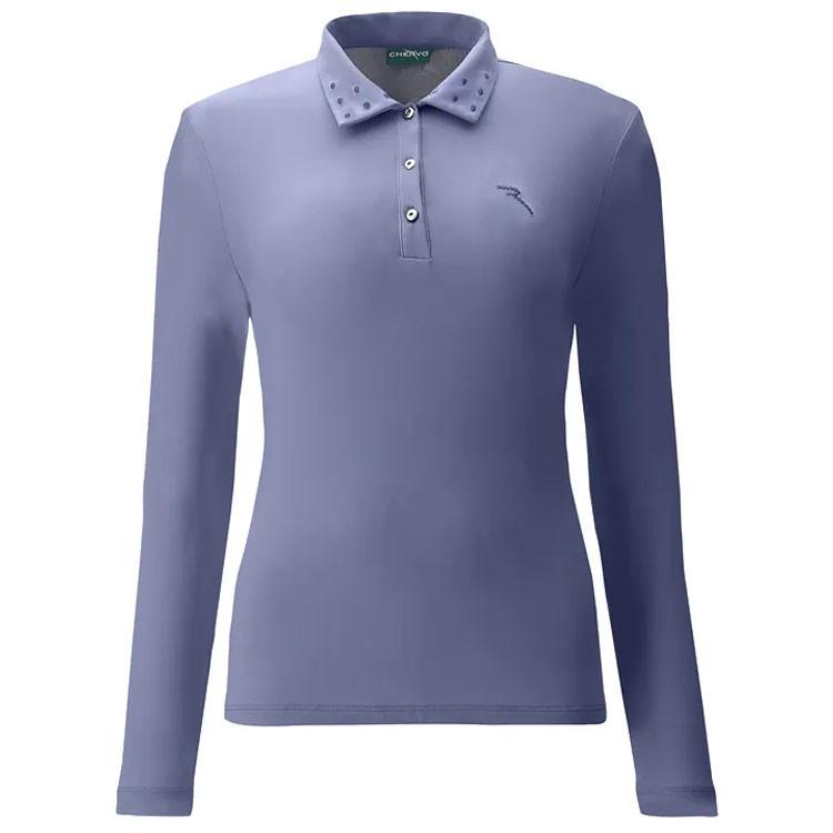 Chervo Polo Allota Femme Bleu Golf Plus
