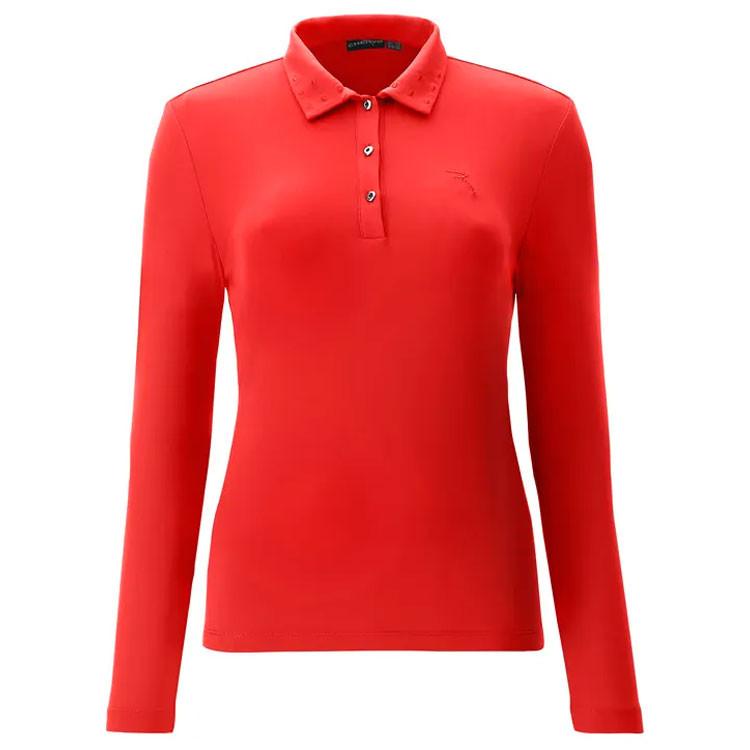 Chervo Polo Allota Femme Rouge Golf Plus