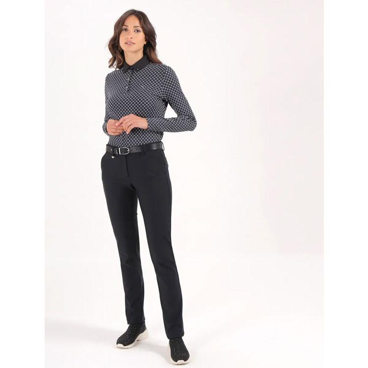 Chervo Pantalon Song Technique Noir Femme Golf Plus