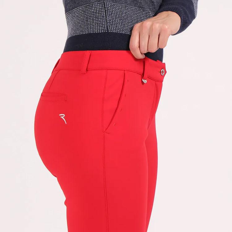 Chervo Pantalon Song Technique Rouge Femme Golf Plus
