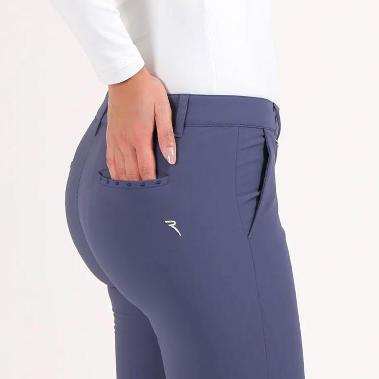 Chervo Pantalon Streep Technique Bleu Femme Golf Plus