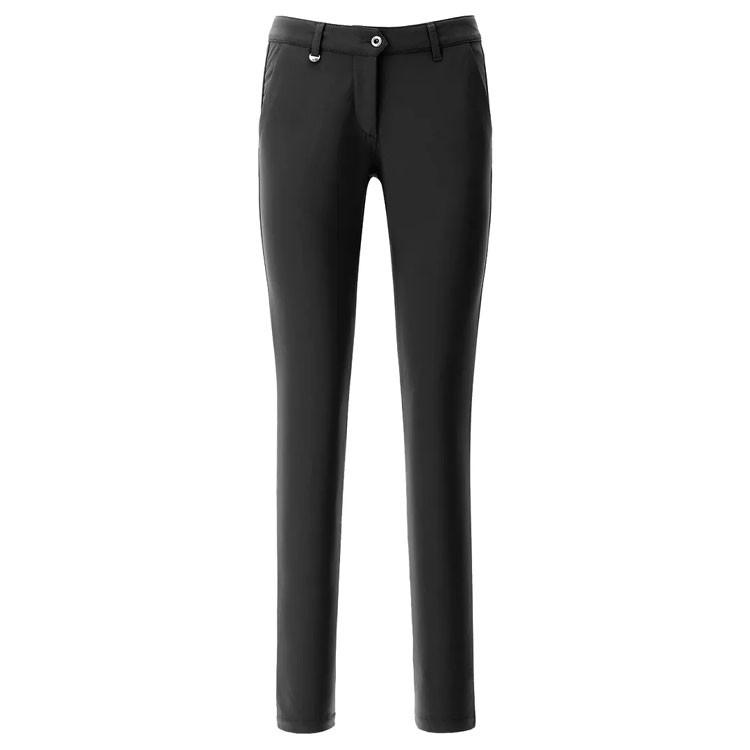 Chervo Pantalon Streep Technique Noir Femme Golf Plus