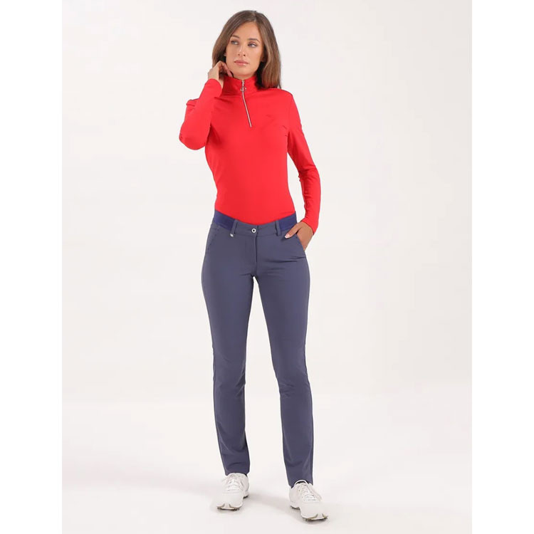 Chervo Sous Pull Toner Chaud Femme Rouge Golf Plus