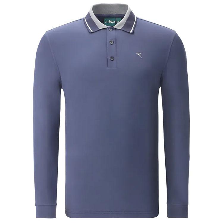 Chervo Polo Atos Bleu Homme Golf Plus