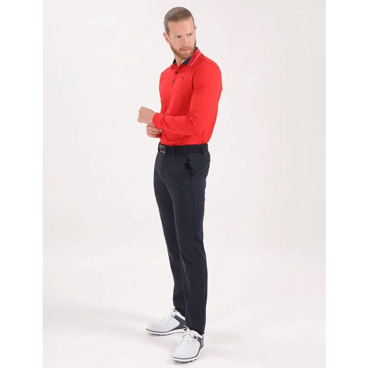 Chervo Polo Atos Rouge Homme Golf Plus