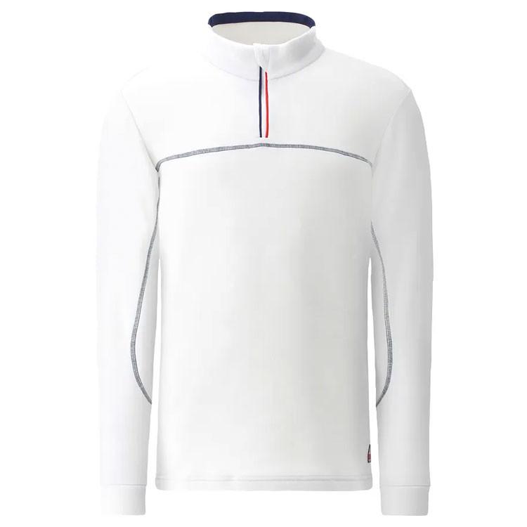 Chervo Pull Polaire 1/2 Zip Beige Homme Golf Plus