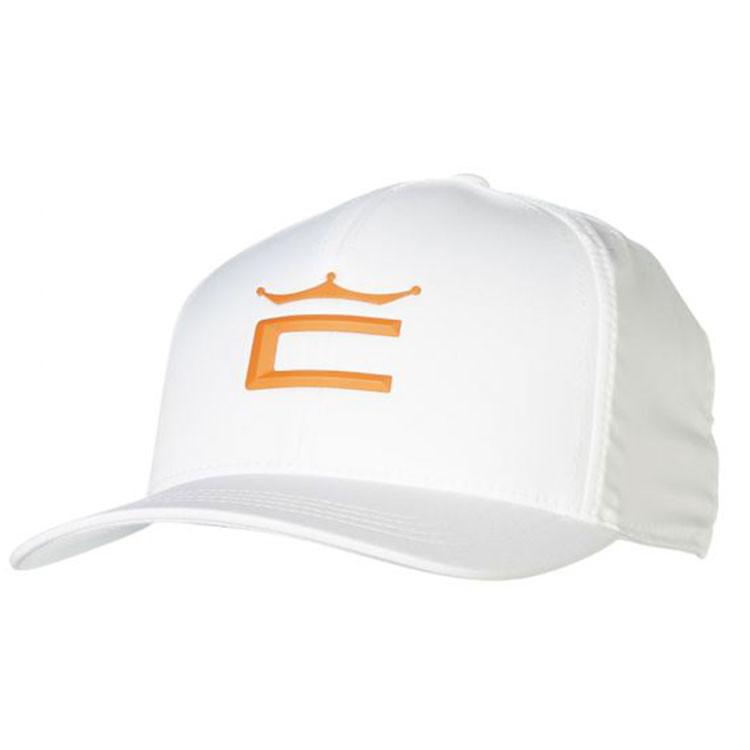 Cobra Casquette Crown Junior Orange Blanc Golf Plus