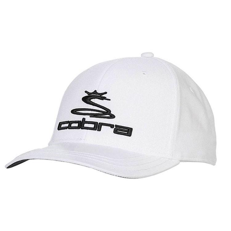 Cobra Casquette Ball Marker Blanc/Noir Golf Plus