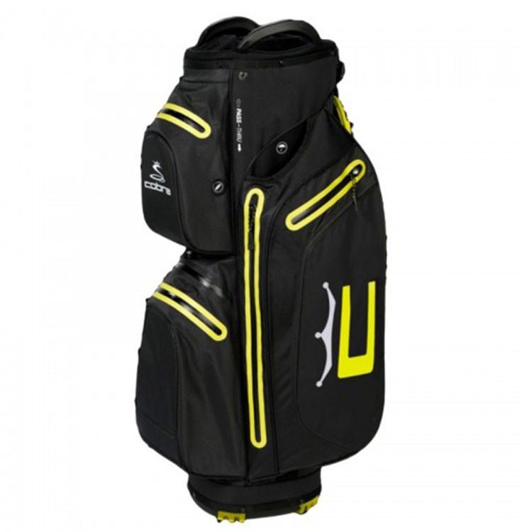Sac Ultradry Pro Cart Noir/Jaune Golf Plus