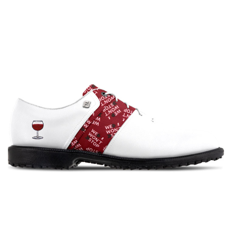 Footjoy Chaussures Myjoys Premiere Series Packard Off Course personnalisée Golf Plus