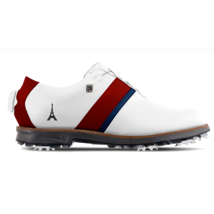Footjoy Chaussures Myjoys Premiere Series Traditional Boa femme personnalisée Golf Plus