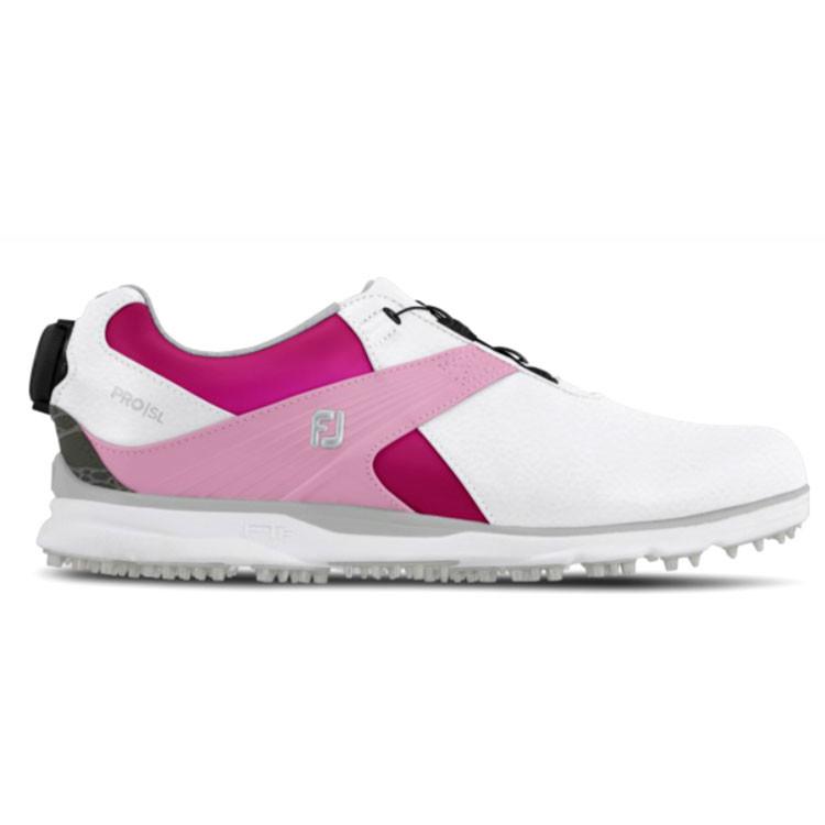 Footjoy Chaussures Myjoys pro SL femme personnalisée Golf Plus