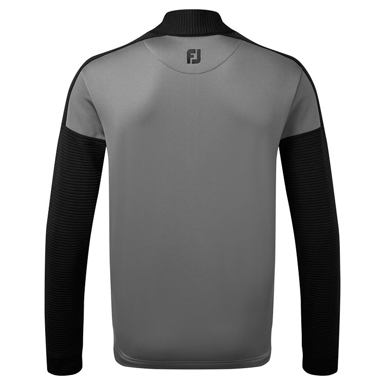 Footjoy - Pull Chill- out Xtreme Ribbed gris dos - GP