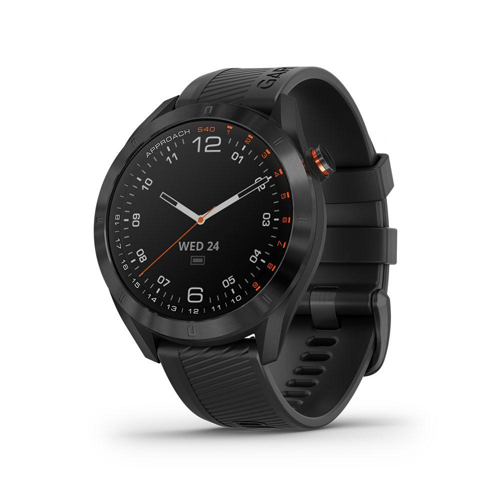 GARMIN - MONTRE GPS APPROACH S40 PREMIUM NOIR