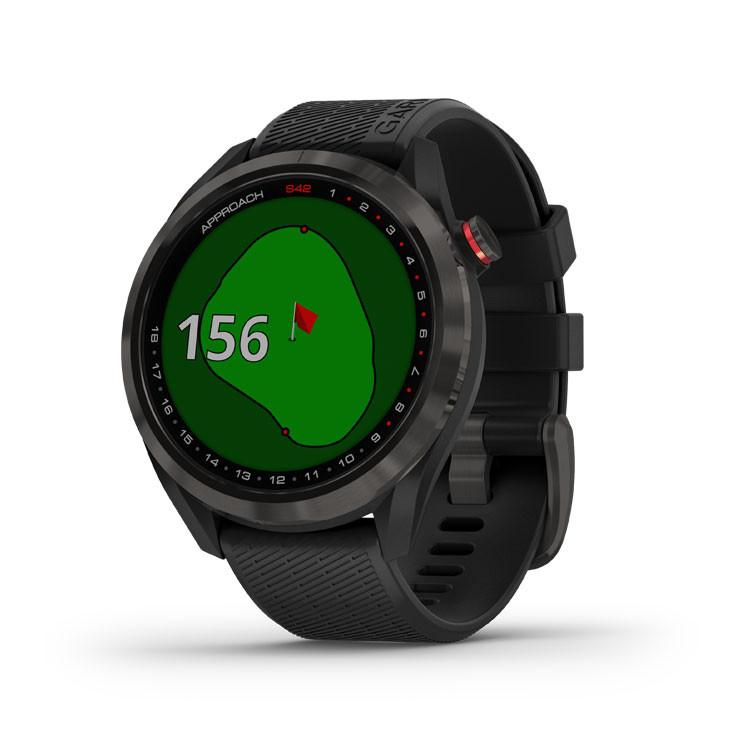 Garmin - Montre GPS Approach S42 Carbon - 1
